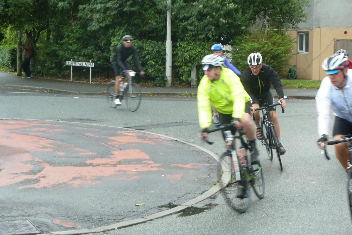 The Ride of The Roses - Only 99 and three quarter miles to go