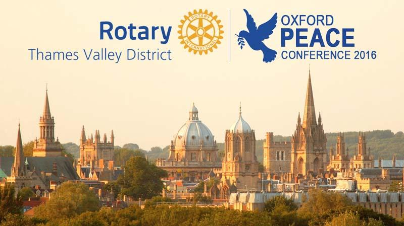 Oxford Peace Conference 2016
