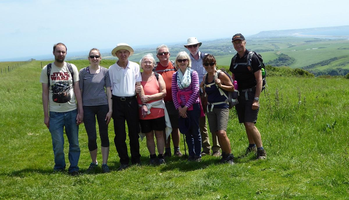 Walking above Abbotsbury -