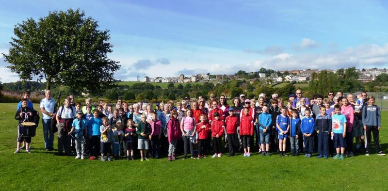 13th Annual Charity Walk - The start at Inverleithing