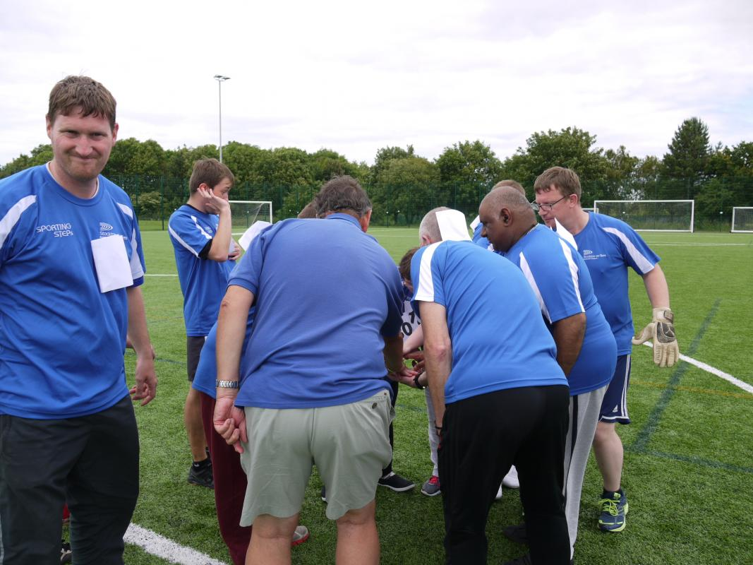 THE DISTRICT GAMES FOR THE DISABLED - TEAM TALK