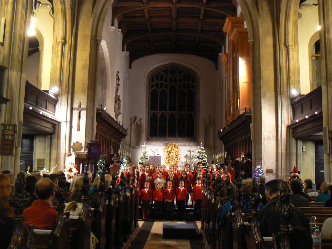 Carol Concert and Christmas Tree Festival for the homeless and the Arthur Rank Hospice