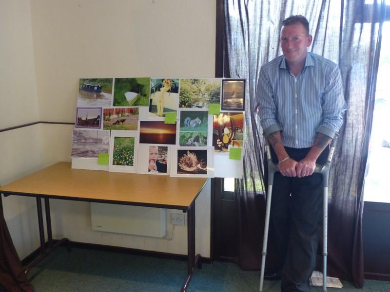Club Meeting+ internal photographic competition judging - Mike Evans Judging