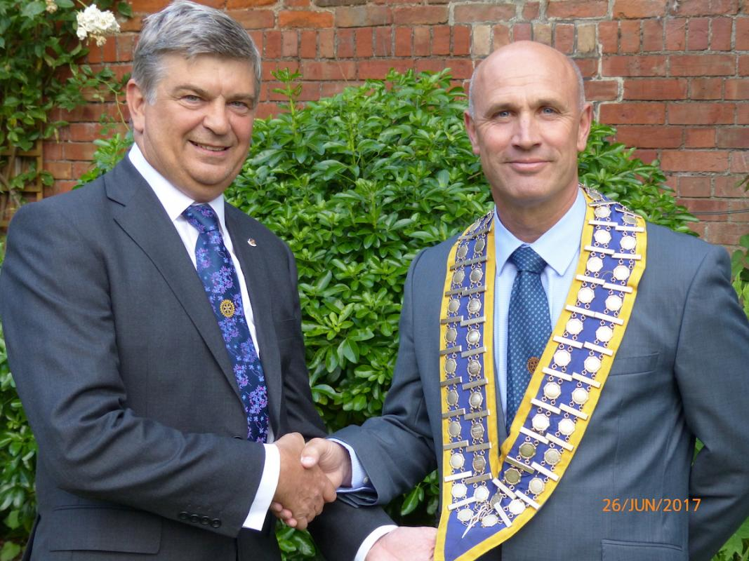 Welcome to our New President Mark Walker -