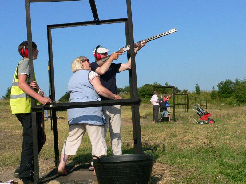 Clay Pigeon Shoot at Yorkgate Gun Club.