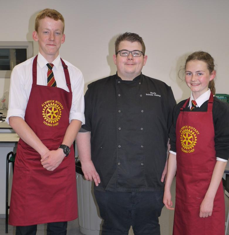 Alnwick Rotary Young Chef Competition -