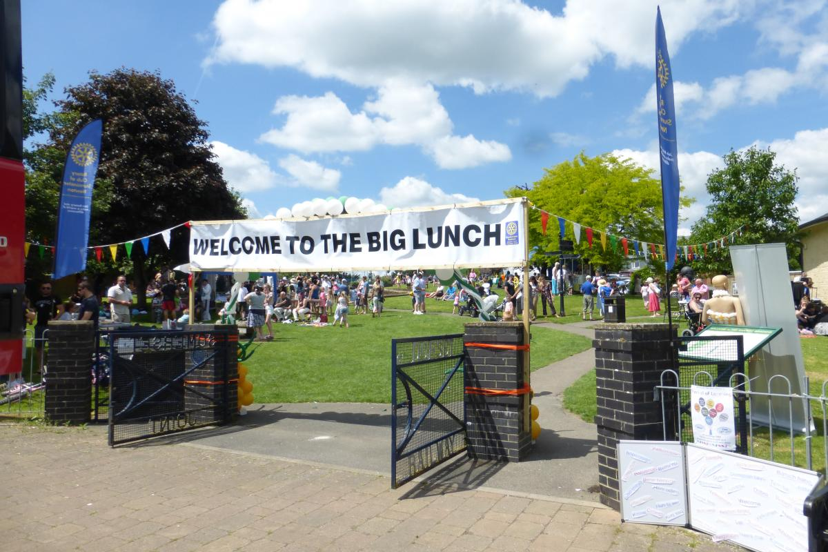 The Big Lunch - Free Community Event - The Big Lunch event in June 2018