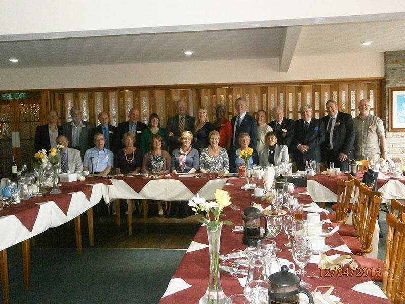 Members at our 90th Charter Lunch at Ilfracombe Golf Club.