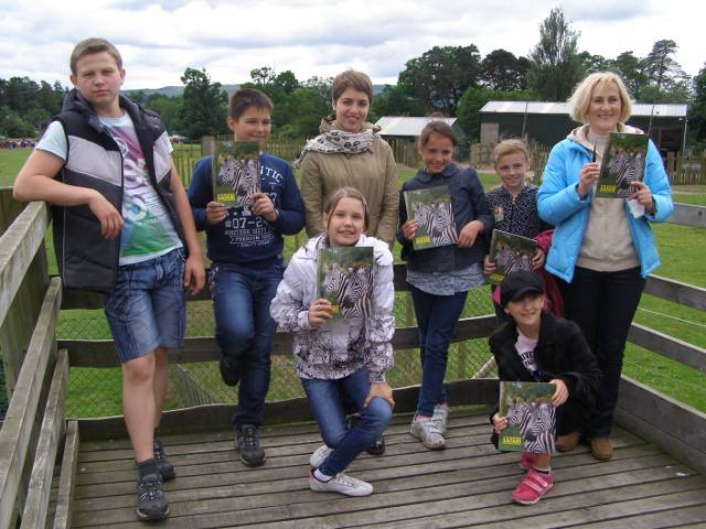 Chernobyl Kids visit to Blair Drummond Safari Park - Blair Drummond