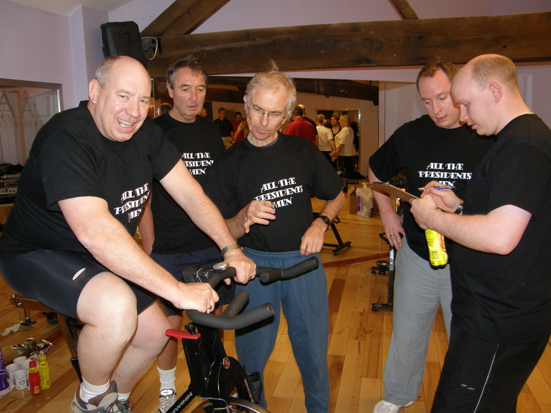 Northwich Cyclothon - 2007 - All the Presidents Men