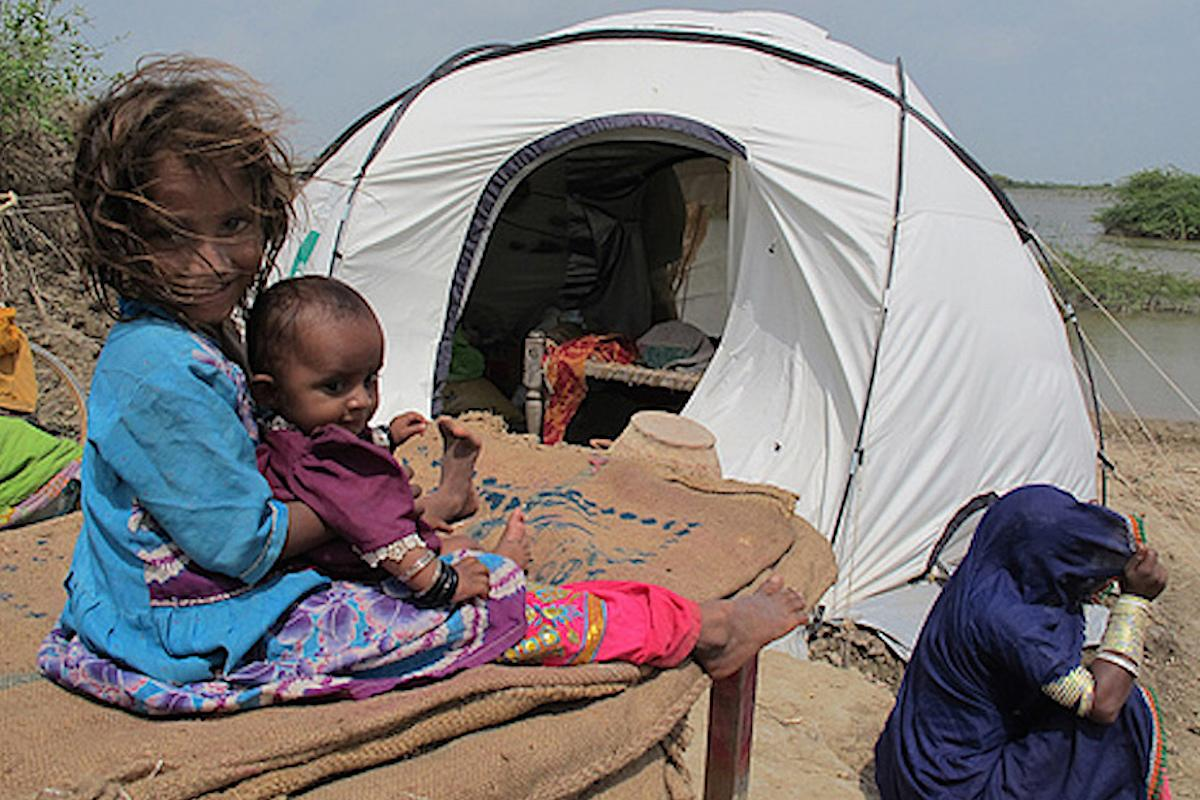 Shelterbox at work in Pakistan