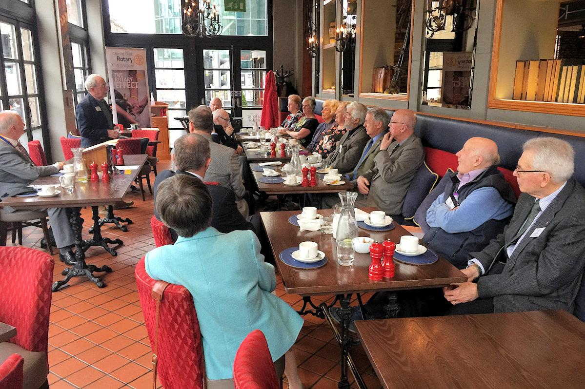 Club Fellowship - Past Members Lunch 2018