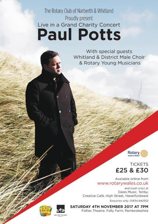 Paul Potts Grand Charity Concert