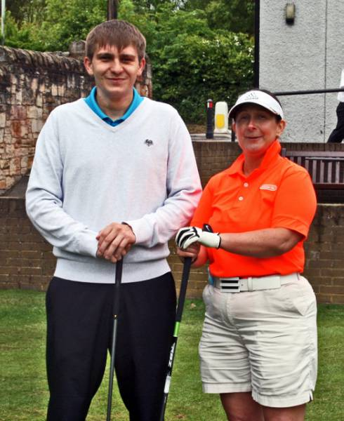 Charity Golf Day - The eventual winners