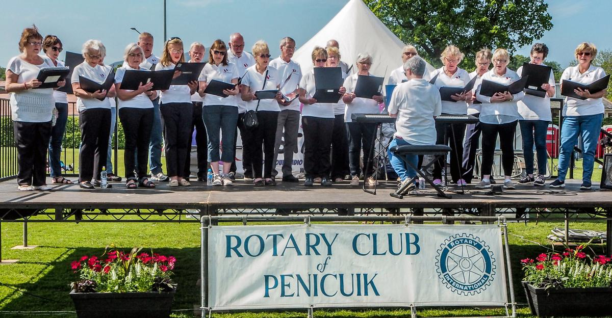 Penicuik in the Park 26th May 2018 -