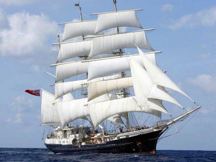 Brief History of Tall Ships and sailing with the disabled.