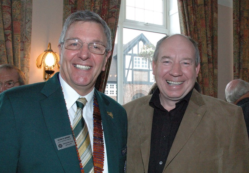 President Steve with RIBI President Alan Jagger - Click on title to view more photos