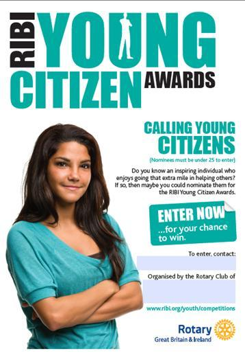 rotary young citizen awards rotary district 1190