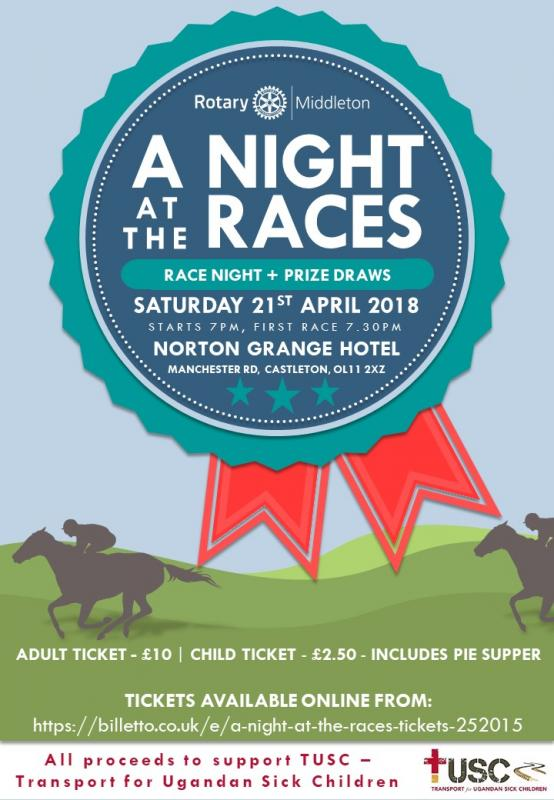 A Night at the Races - Join us for...
