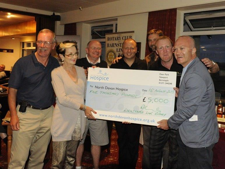 CHARITY GOLF DAY AUGUST 2013 -