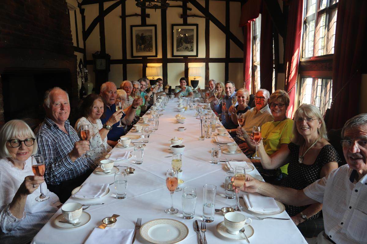Traditional Champagne Tea at the Swan Lavenham