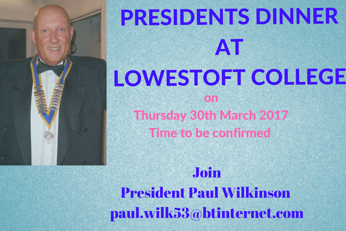 Presidents Evening