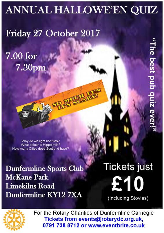 Annual Hallowee'en Quiz