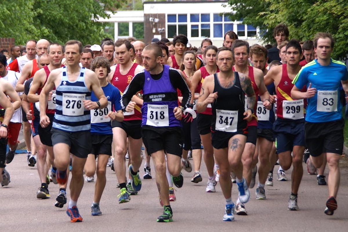 Sittingbourne 10K Race leaders