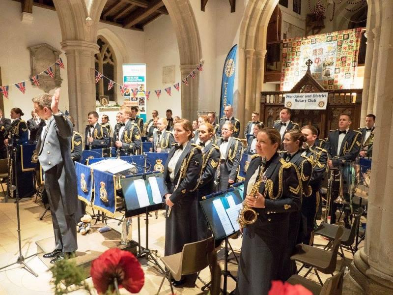 Let the Chilterns Sing 2015 Concert - Band of the RAF Regiment