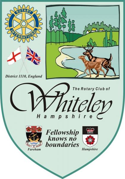 Banner of the Rotary Club of Whiteley