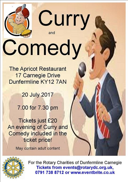 Curry & Comedy Night at Apricot Restaurant