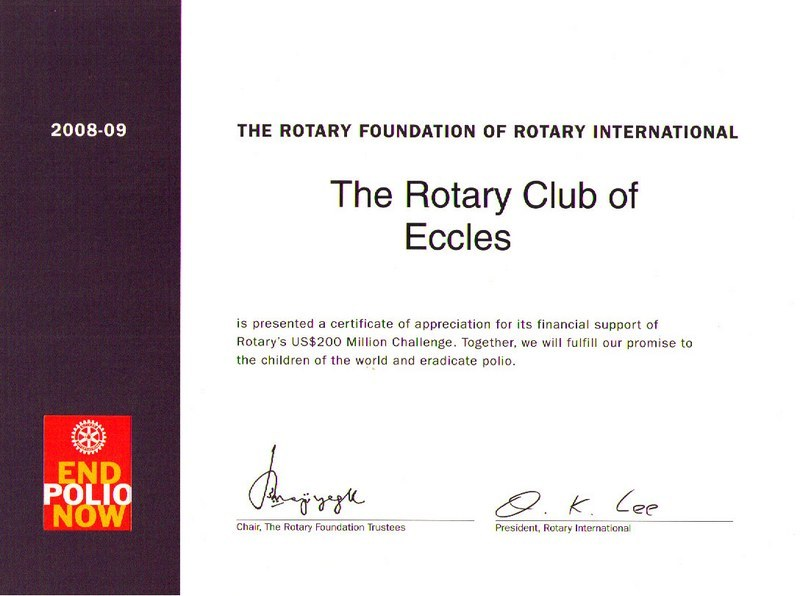 Rotary Certificate Of Appreciation Template Zrom