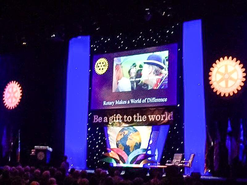 Rotary in Great Britain and Ireland Conference - The conference main stage