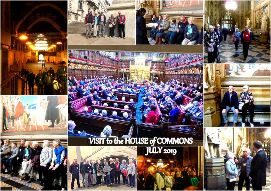 House of Commons visit by Truro Rotary Club