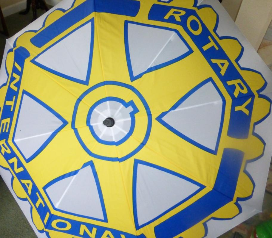 The umbrella of Rotary