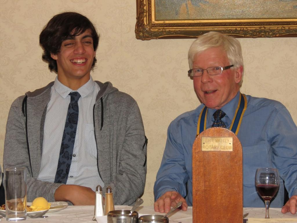 Committees, feedback from our RYLA candidate and Dinner -