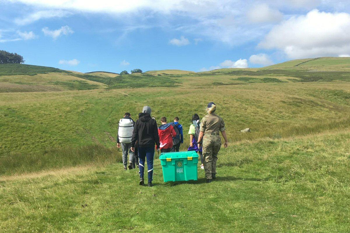 A ShelterBox challenge, Middleton-in-Teesdale
