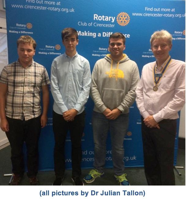 Young adventurers return to Rotary - RYLA -