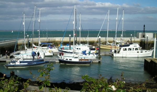 Rotarians boats, the Yacht Haven at the Royal Yacht Squadron. Book NOW....