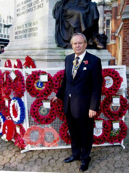 Remembrance Sunday - attended by Trevor Morgan - Remembrance Sunday - attended by Trevor Morgan