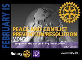 February is Peace and Conflict Prevention/ Resolution Month -