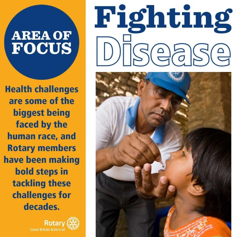 Rotary International, Together Fighting Disease