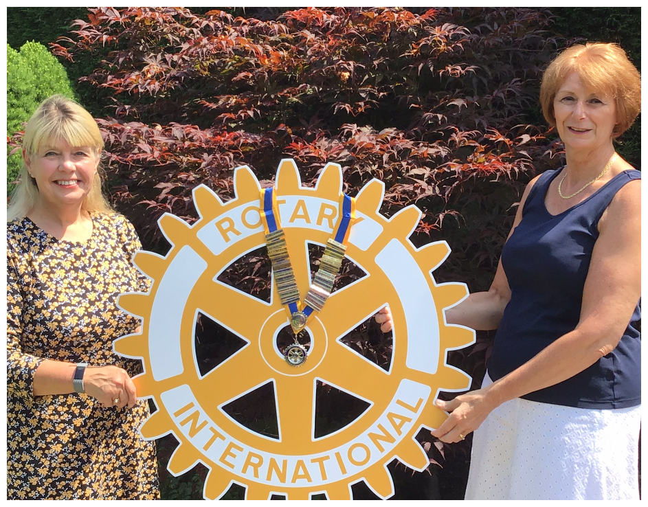 Happy New Rotary Year and Happy New President Bev! - Rotary Middleton President Handover