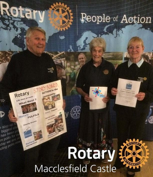 Pictured planning an exciting year of Rotary activities.