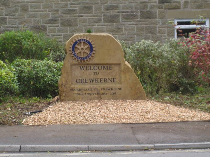 The Crewkerne Rotary Stone -