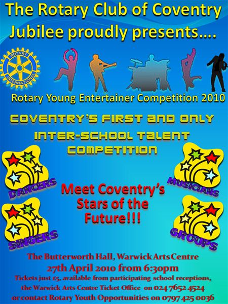 Rotary Young Entertainer -