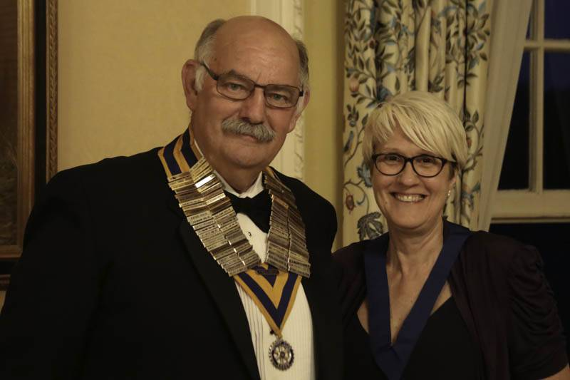 A new Rotary Year begins - New President Clive Smitheram