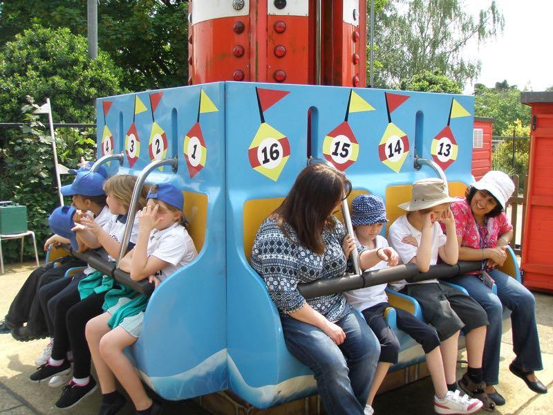 Kids Out June 2016 - Enjoying one of the rides