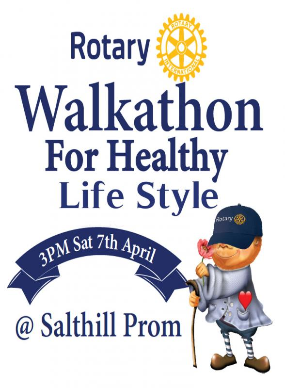 Galway Salthill Rotary Club's Walkathon for Healthy Life Style