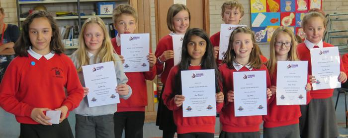 Rotary Young Writers Competition 2016 - Lawhead Pupils participating in the Young Writers Competition